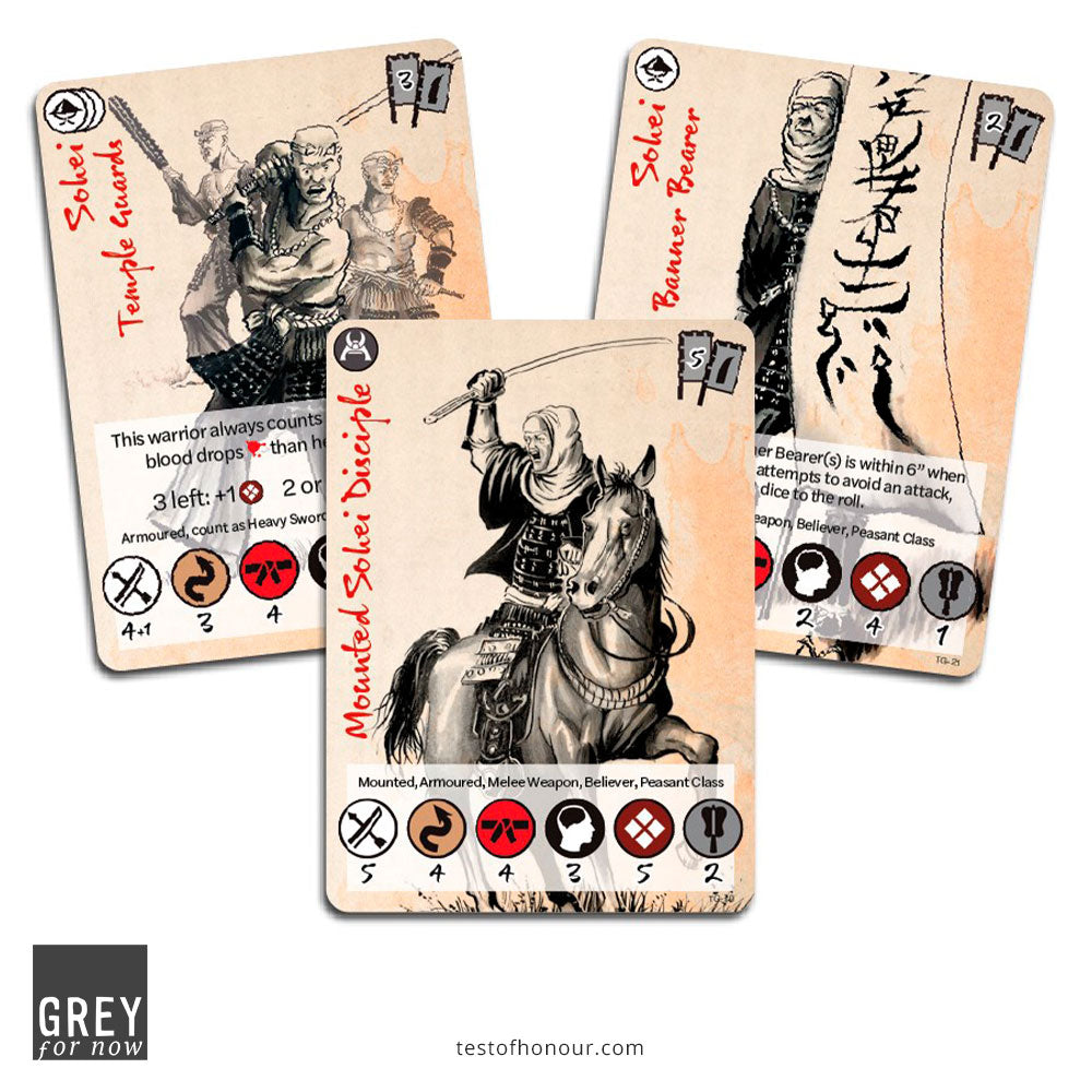 Sohei Temple Guard bonus cards