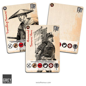Blank Character cards