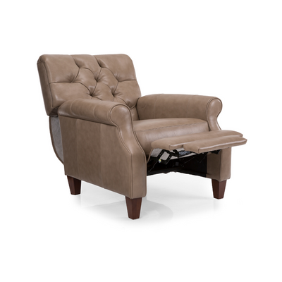 SPENCER LEATHER RECLINING CHAIR floor model