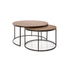 BERLIN NESTING COFFEE AND END TABLE
