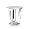 CATERINA MIRRORED END TABLE