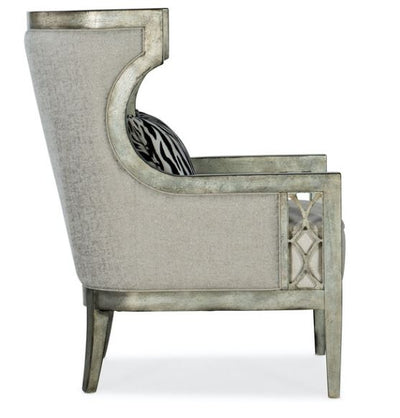 DEBUTANT WING CHAIR floor model