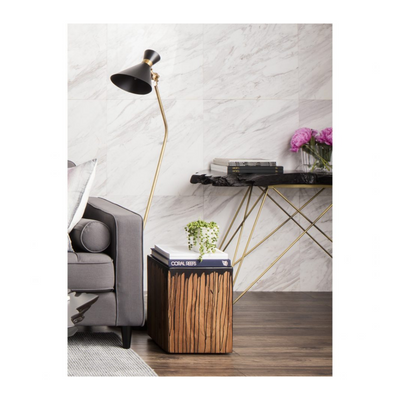 TECTONA CONSOLE TABLE floor model
