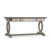 RUSTIC GLAM TRESTLE DESK