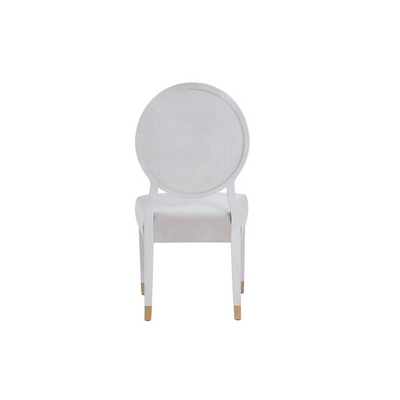 LOVE JOY BLISS OVAL SIDE CHAIR