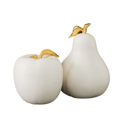 APPLE & PEAR SCULPTURES