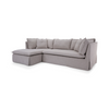 GEORGIA SOFA WITH CHAISE floor model