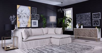 GEORGIA SOFA WITH CHAISE