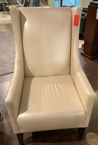 JUSTIN CHAIR LEATHER floor model
