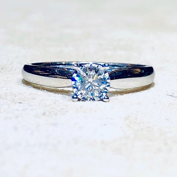 True Miracle 1/2 Ct Diamond Engagement Ring