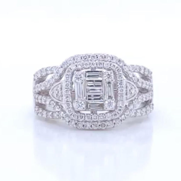 Art Deco 1.00 ct Diamond Ring