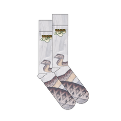 YES Sound Chaser Relayer album artwork sublimated socks