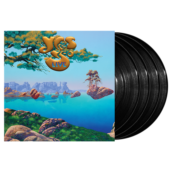 YES 50 LIVE 4 LP