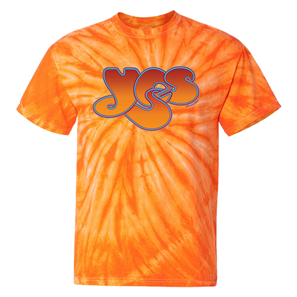 Orange Logo Tie Dye Tee