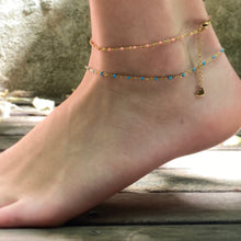 Load image into Gallery viewer, JUST THE THING ANKLET IN GOLD
