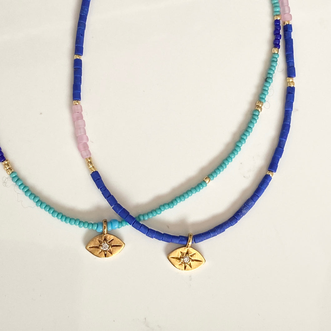 JOY NECKLACE - EVIL EYE