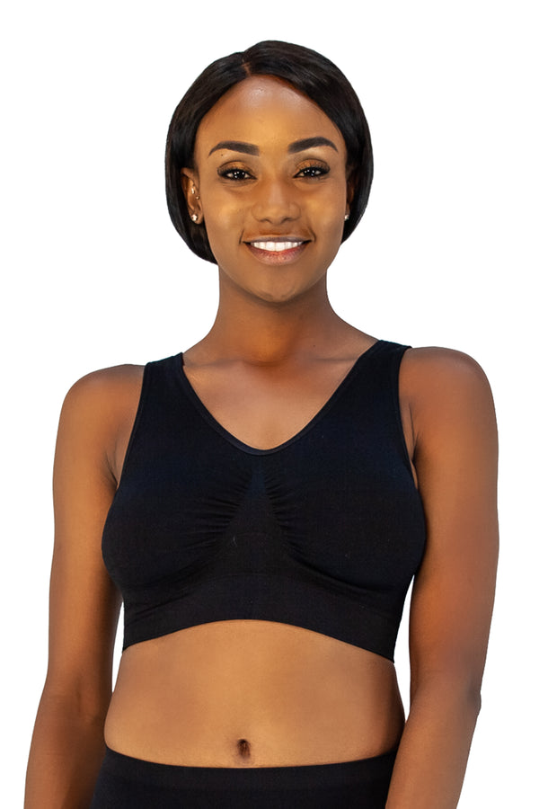 Jacquard Ahh Bra with Removable Pads   Intimates and
