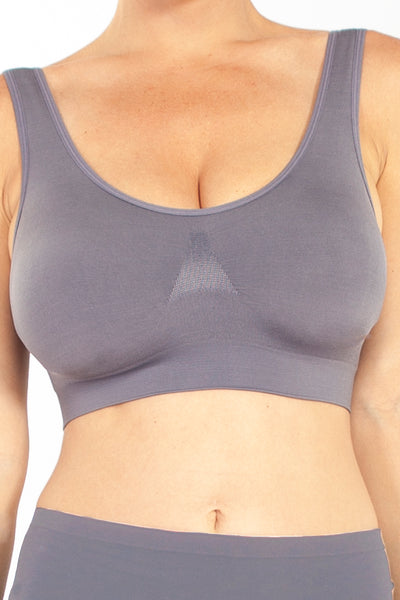 Moisture Wicking Seamless Bra - Rhonda Shear