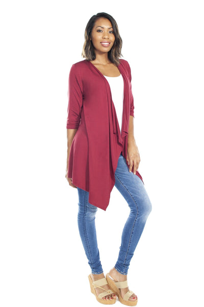 Ahh Comfort Wrap - Burgundy / 2X/3X - Apparel