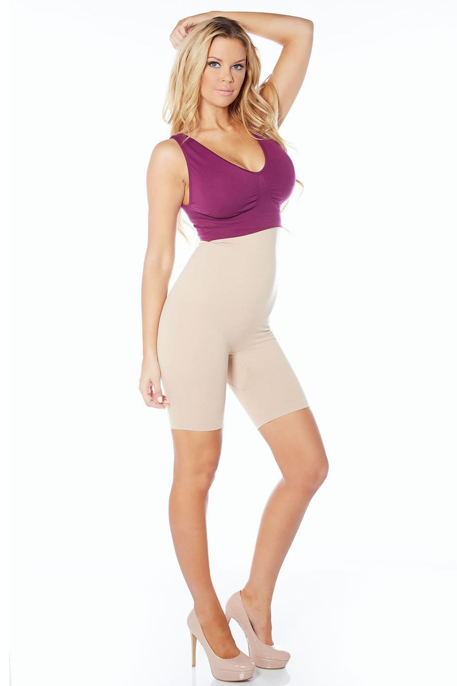 Ahh Smooth Operator High Waist Seamless Longline - Rhonda Shear