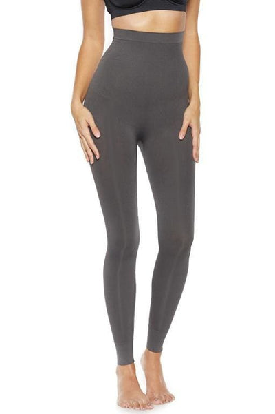 Ahh Smooth Tootsie High Waist Shaping Legging - Charcoal / L - Intimates