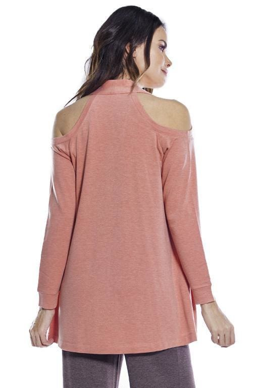 AhhDreams Cold Shoulder Long Sleeve Wrap - Rhonda Shear