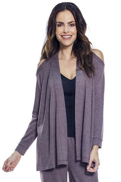 AhhDreams Cold Shoulder Long Sleeve Wrap - Chocolate 18 / S - Sale!