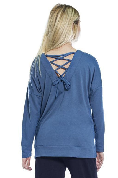 AhhDreams Criss Cross Back Top - Rhonda Shear