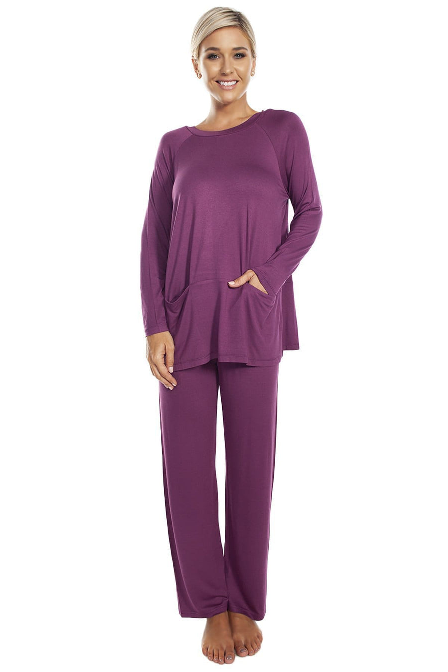 Boat Neck Pocket Tunic - Rhonda Shear