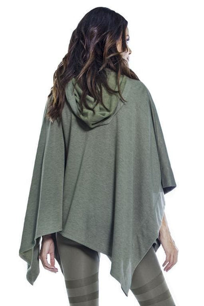 Cozy Hooded Poncho - Apparel