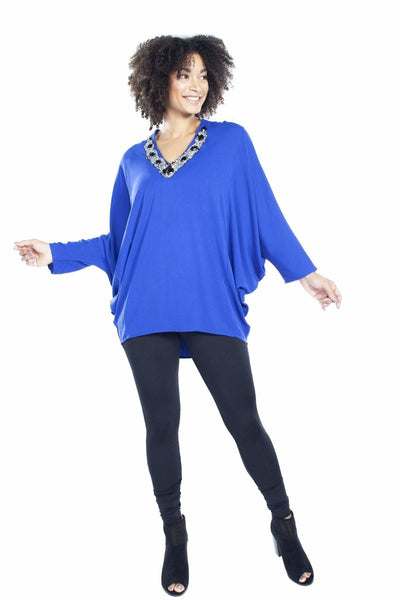 Embellished Caftan - S / Blue - Apparel