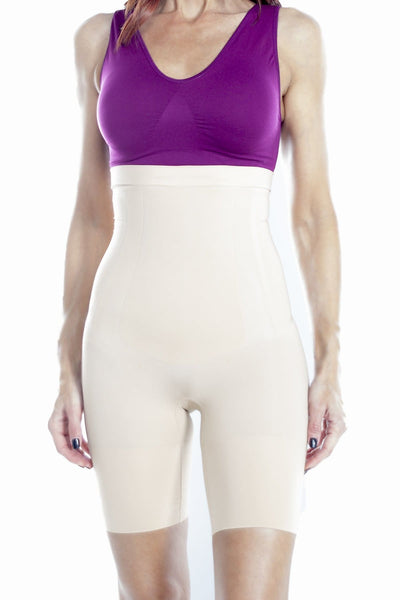High Waist Firm Control Shaper - Nude / S
