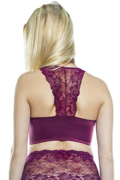 Lace Back Pin-Up Bra