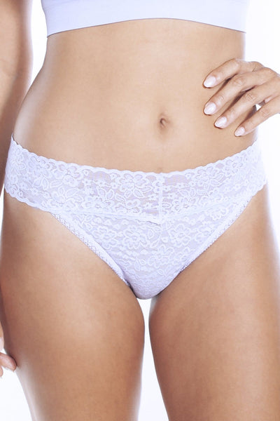 Lace Thong - XS/S / Lilac - Intimates