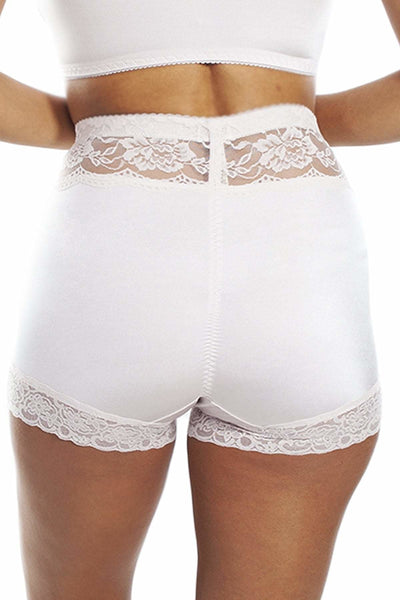 Lace Trim Pin Up Panty - Intimates