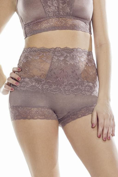 Lace Waist Pin-Up Panty - Rhonda Shear