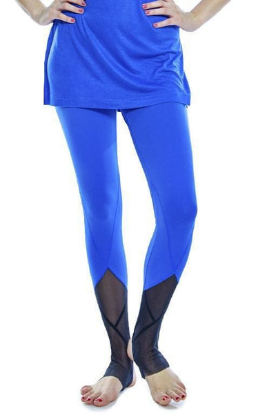 Mesh Detail Legging - Apparel