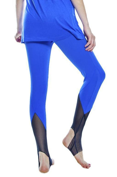 Mesh Detail Legging - Turkish Sea / S - Apparel