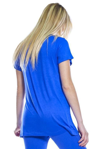 Mesh Inset Top - Apparel