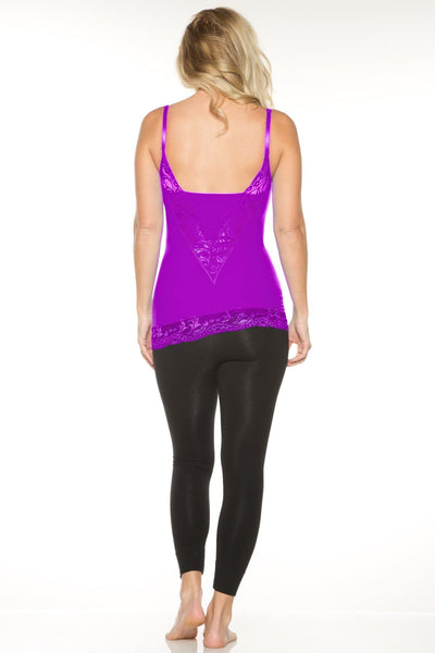Pin-Up Girl Lace Camisole: Sale Colors