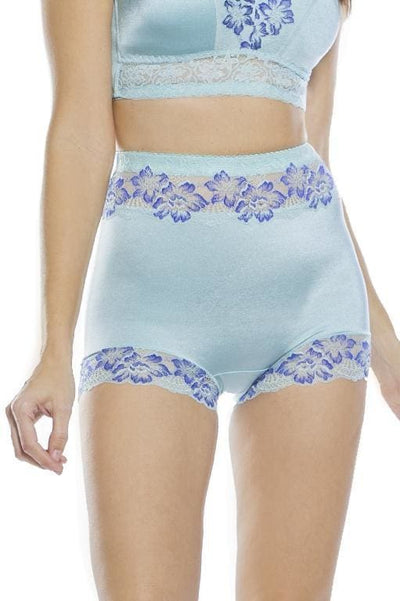 Pin-Up Lace Trim Boyshort Panty