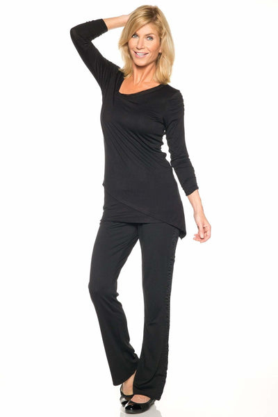 Rhonda Shear Asymmetrical Mesh Smoothing Top - Rhonda Shear