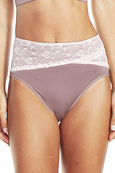 Seamless Brief with Lace
