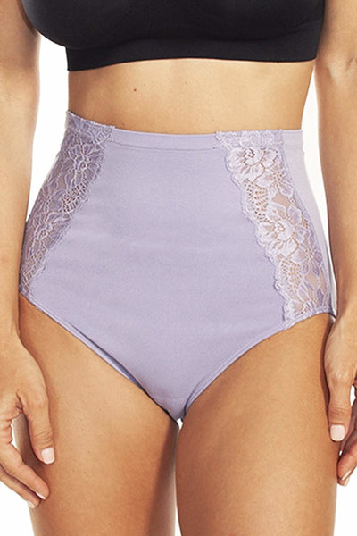 Seamless Panty with Lace Inset - Rhonda Shear