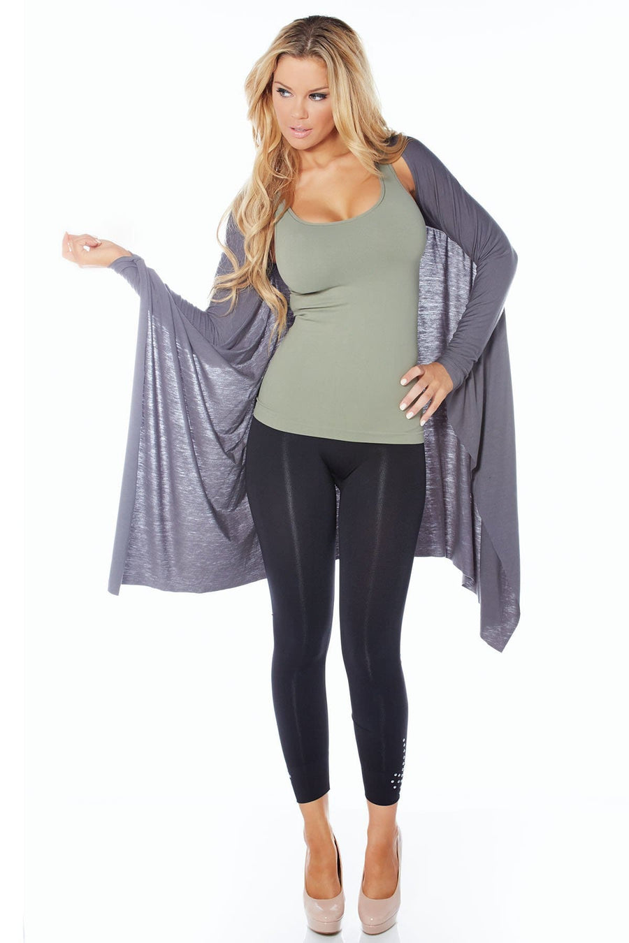 Sexy Snuggle Knit Shrug - Rhonda Shear