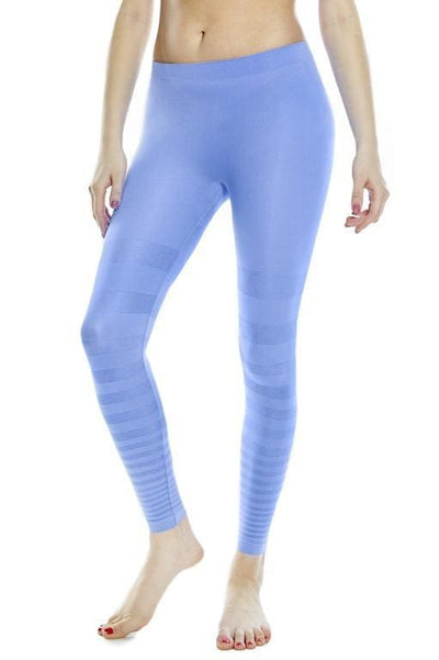 Tonal Striped Seamless Legging - Rhonda Shear