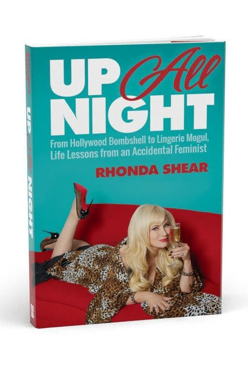 UP ALL NIGHT, by Rhonda Shear (SIGNED) - Rhonda Shear