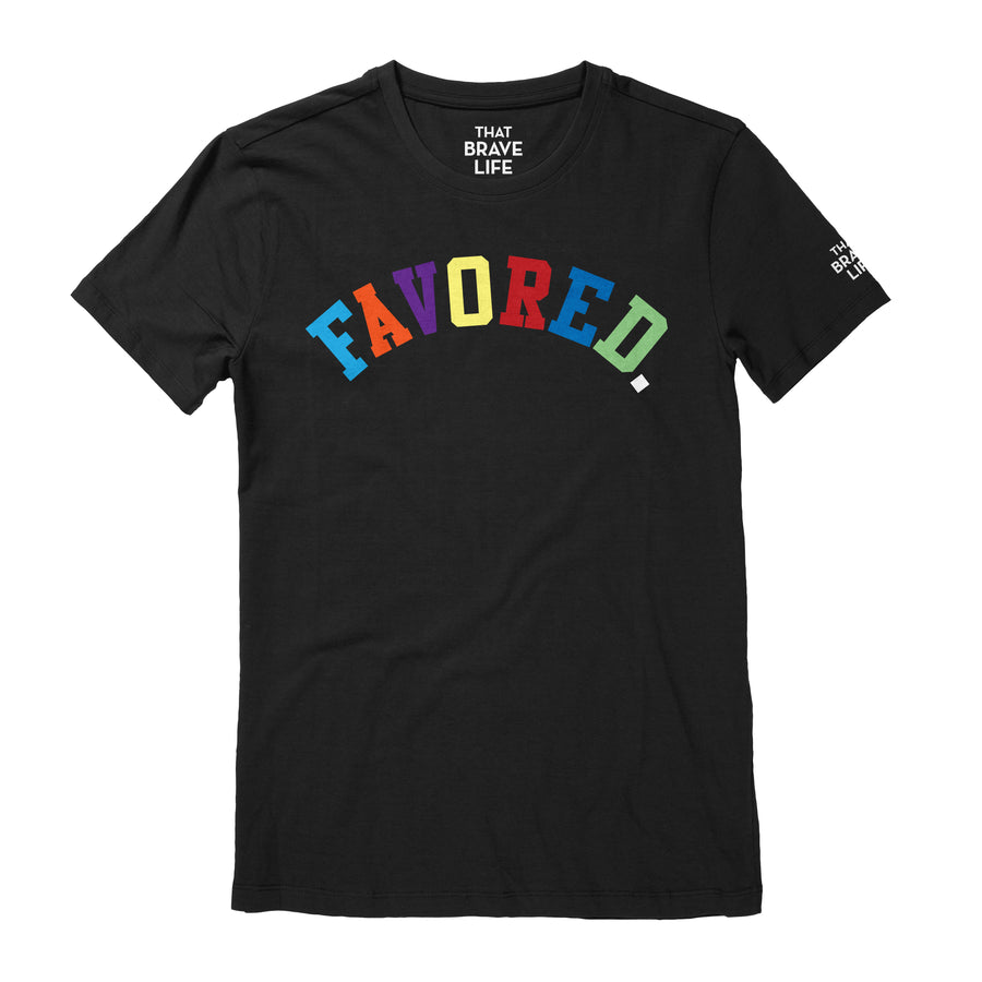 Favored. Tee