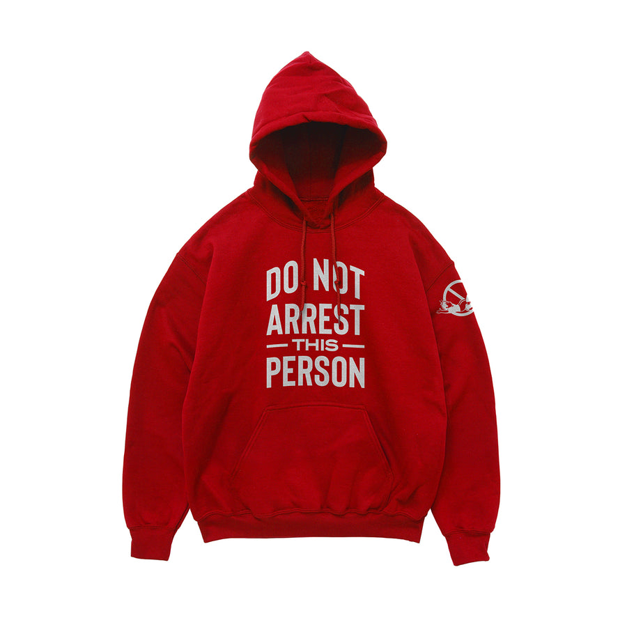 Do Not Arrest This Person Hoodie