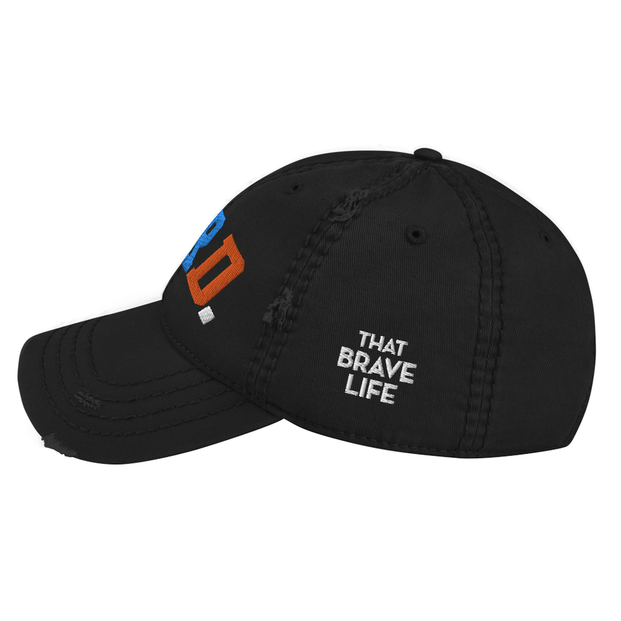 Favored. Distressed Dad Hat